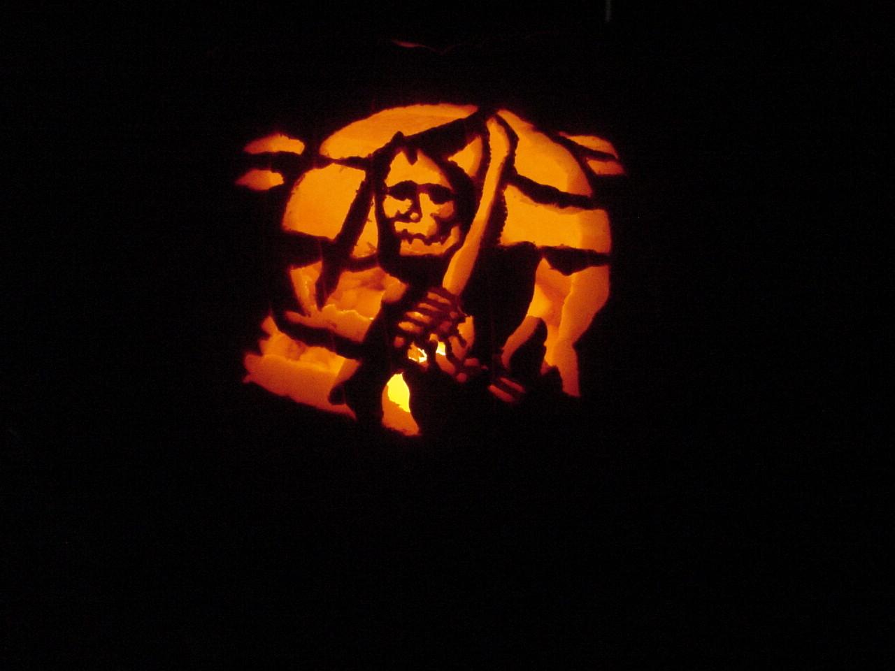 Grim Reaper Pumpkin Carving Patterns my Grim Reaper Pumpkin
